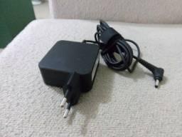 carregador original para notebook lenovo bico fino por R$200 tratar 9- *