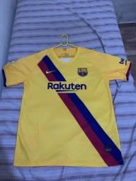 Camisa do barcelona  nova tamanho GG tailandesa 1.1