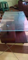 Mesa de centro em madeira de lei
