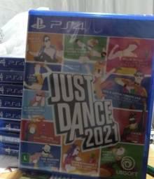 Jogo novo Just Dance 2021 Ps4. Retirada Portão/Água verde