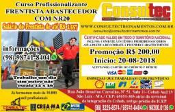 Curso Profissionalizante Frentista Abastecedor com NR20 R$ 200,00! Inicio 20-08-2018