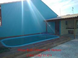 Linda casa 2 quartos, piscina, área Gourmet c/ Churrasqueira em Unamar Cabo Frio