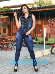 Calças jeans com lycra