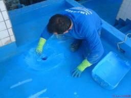 Impermeabilização R$ 30, m² a partir - goteiras vazamentos