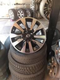 Rodas aro 16 para Nissan Kicks rodas zero na caixa, com garantia