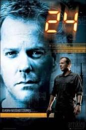 Dvd série 24 horas 1, 2, 3 e 4 temporadas