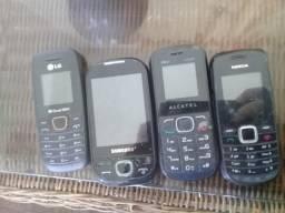 Carcaças celulares usados
