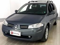 Renault Megane Grand Tour Dynam. Hi-Flex 1.6 16V - Cinza - 2013 - 2013