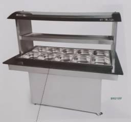 Vendo buffet polar 10 cubas conjugado (10 quentes,5 frias) produto novo