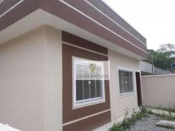 Casa linear com quintal independente, Extensão Serramar/ Rio das Ostras