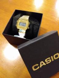 Relógio Casio vintage unissex digital 1a. Linha