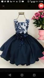 Vestido de festa tam 12 R$120,00