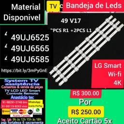 Bandeja de Leds TV LG LED