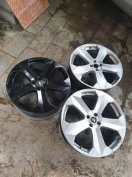 3 rodas aro 20