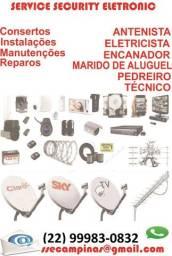 Marido de Aluguel Serviços Elétricos, Hidráulicos, Instalações e Manutenção em Geral