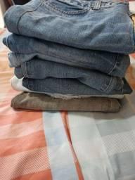 Lote de calças feminina de marca