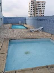 Excelente apto com 2 qts, 50m, 1 vaga, vista livre e lazer completo no Centro de Nilópolis