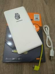 Power Bank Carregador Celular Pineng 10.000 Mah Slim Pn-951