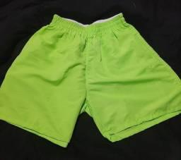 Short moda praia/mauricinho/ neon masculino