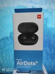 Tooop #01. Redmi Air Dots S da Xiaomi. Novo Lacrado com Garantia e Entrega hj