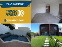 Villa Giardino, Casa em condomínio com 3 quartos em 129m² em Patamares