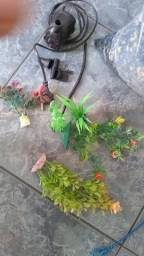 Bombinha 1000L/hrs plantinha artificial e pedrinha para aquario