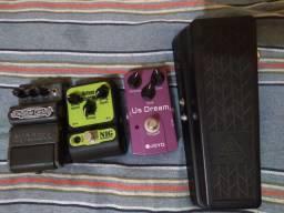 Pedais analógicos de guitarra (TROCA)