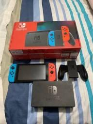 Nintendo Switch 32gb Caixa Vermelha Modelo Novo - Pokemon Sword