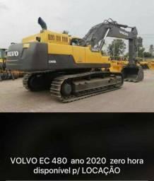 VOLVO EC  480  ANO 2020/ 0 HORA DISPONÍVEL PARA LOCAÇÃO!!!