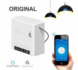 Sonoff Mini Interruptor Wi-fi Alexa, Google automação residencial
