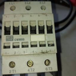 Contator WEG  Trifásico de 80a, 220v