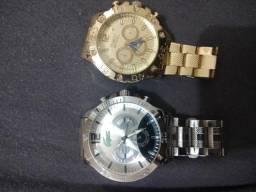 Relógios Lacoste e Invicta sem bateria comprar usado  Mogi das Cruzes