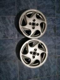 Jogo de rodas 14 Fiat pálio 500