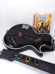 Guitarra Guitar Hero 3 Playstation PS3 Legends of Rock Les Paul