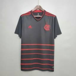 Camisa do Flamengo Preta tamanho G,GG e 2GG disponível
