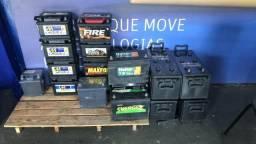 Baterias semi novas 100ah, com Garantia