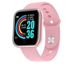 Smartwatch D20 FitPro Rosê Original Notificação de Whatsapp Baratissimo