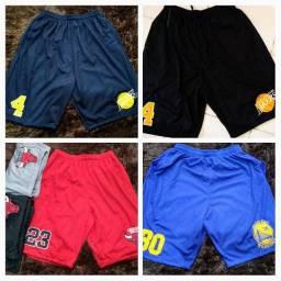 Bermudas elastano, ,jeans e NBA 2 por 100