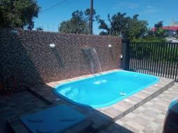 Casa em praia de leste com piscina!