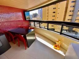Apartamento com 3 suítes + lavabo + varanda gourmet nascente no corredor Vera arruda