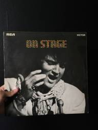 """Disco de vinil Elvis Presley - """"On Stage"""" - Importado"""