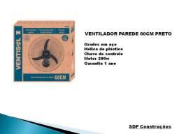 Ventilador Parede 60cm Preto