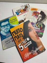 Combo Livro YouTubers (Kéfera Buchmann, Christian Figueiredo, Rafael Moreira)
