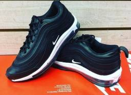 Nike Airmax 97 Black white (PROMOÇÃO)