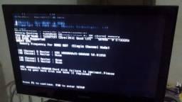 TV Samsung 32 LED Modelo LN32C450E com Defeito!