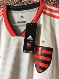 Camisa Adidas de jogo Flamengo TAM G