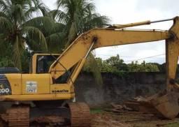 Escavadeira hidráulica Pc200 Com entrada apartir:$25.000,00