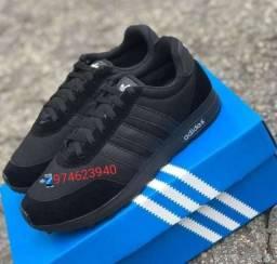 Tênis Adidas  Black novo na Caixa