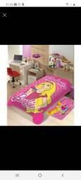Cobertor solteiro jolitex barbie