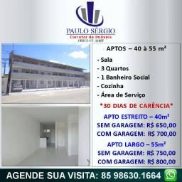 Promoção - Barra do Ceará - Aptos com 3 Quartos